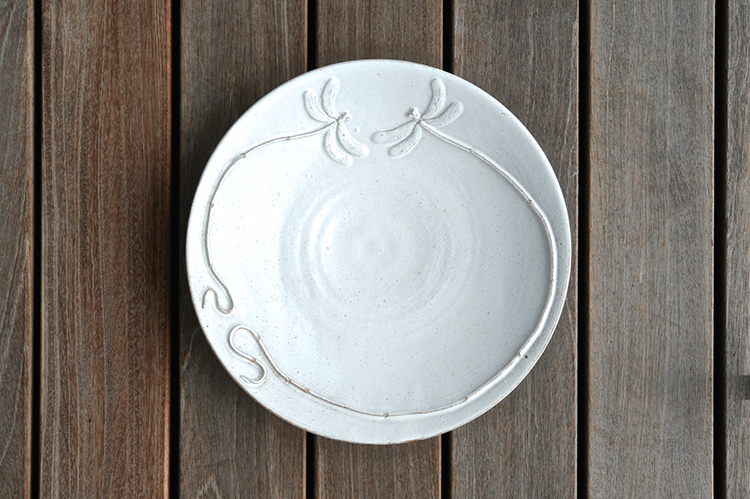 Dragonfly large plate